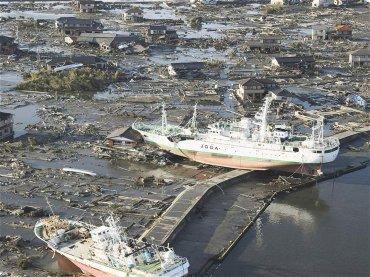 La ciudad de Higashimatsushima, completamente destruida