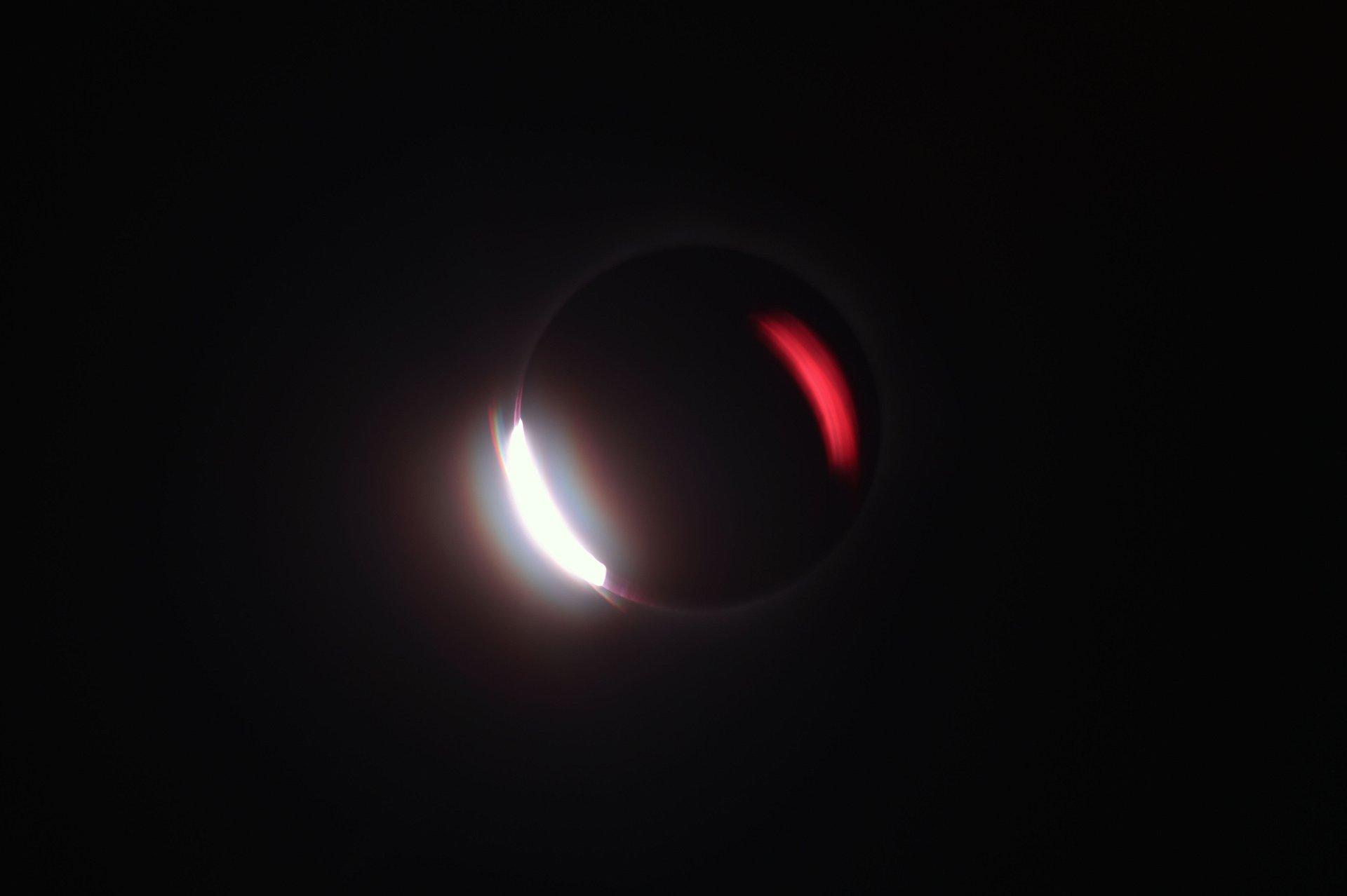 Isla de Maluku, en Indonesia. El eclipse solo pudo verse en los países del sudeste asiático.