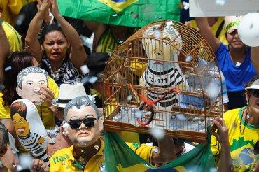 Brasilia fue una de las ciudades donde mayor concentración de manifestantes se registró