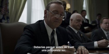 Los roces con Claire. En una reunión de gabinete, FU le reprochó su papel como embajadora ante las Naciones Unidas.