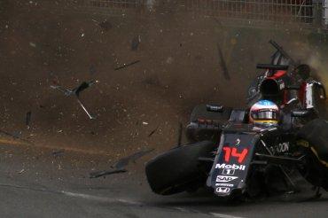Fernando Alonso viajaba a 310 km/h al momento del accidente