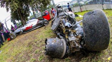 Así quedó el coche de Fernando Alonso