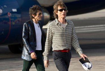 Va a ser la última parada en esta gira y será un gran espectáculo, prometió Jagger en el aeropuerto de La Habana.