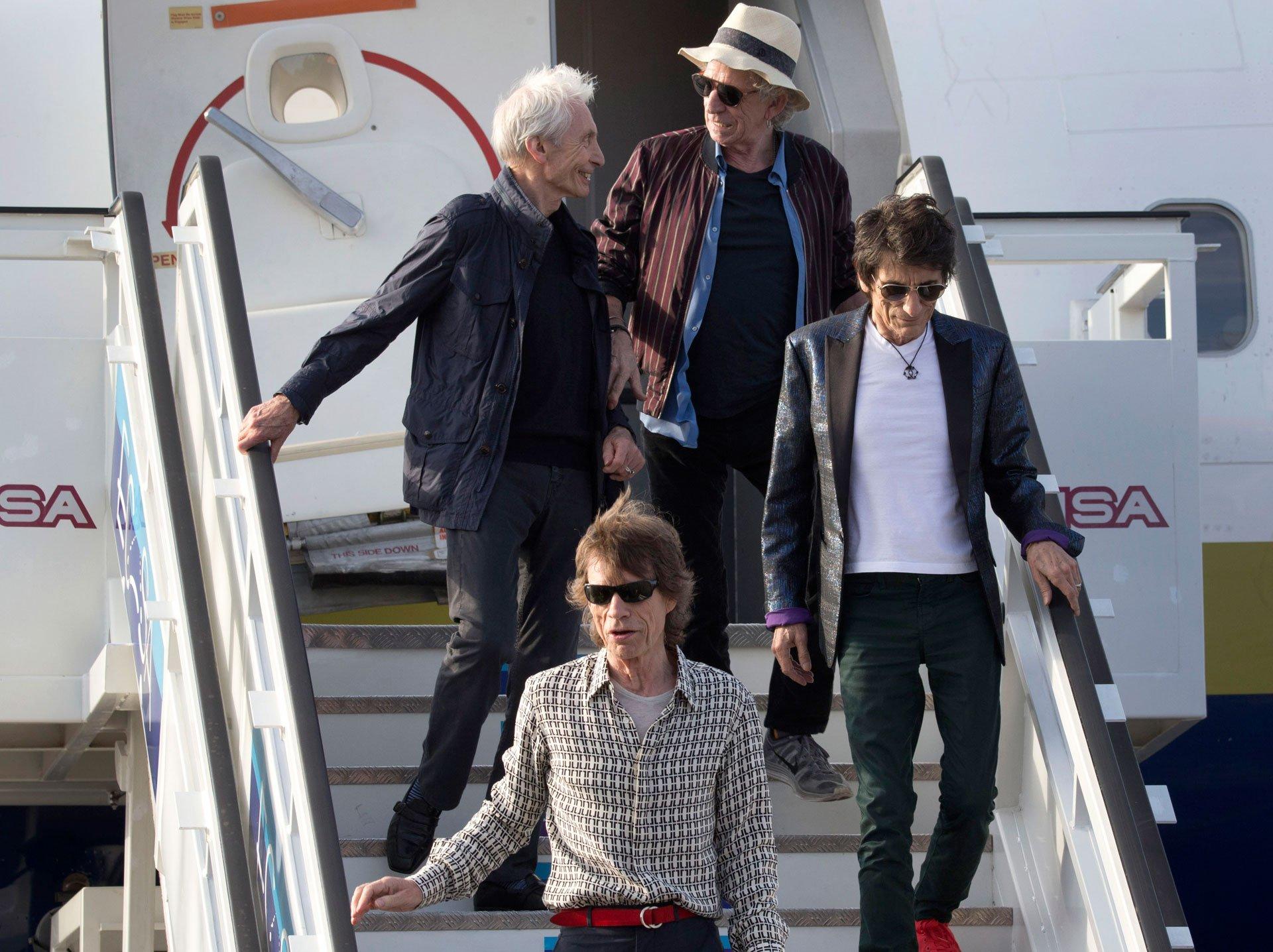 El propio Mick Jagger dio un pequeño saludo en español a sus seguidores antes de expresar en inglés su deseo de visitar la isla