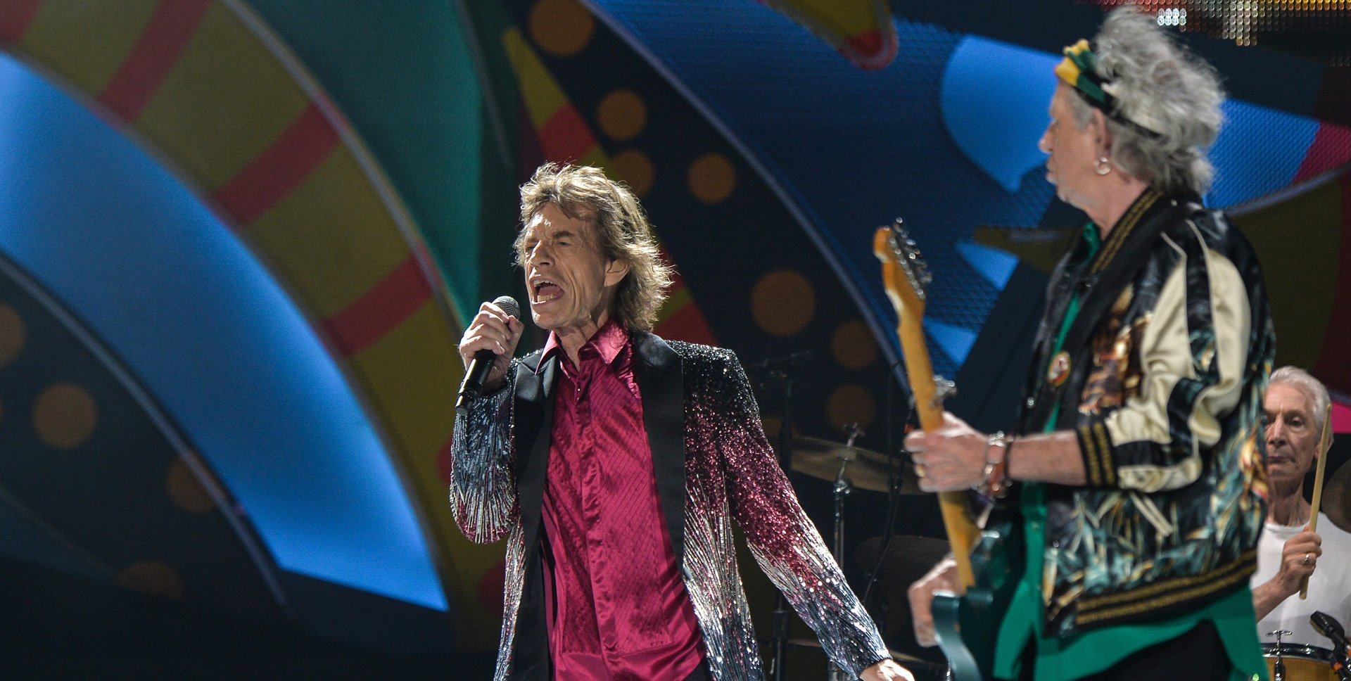 Mick Jagger y Keith Richards, dos de los símbolos de la agrupación británica